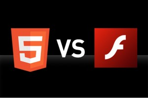 Flash-Vs-HTML5-300x199