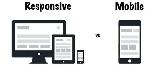 Responsive vs mobile